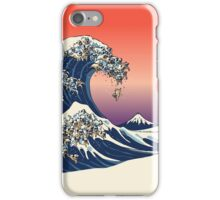 The Great Wave of Pug iPhone Case/Skin