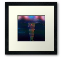 The Lone Robot Framed Print
