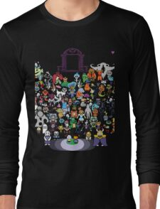 Undertale retro Long Sleeve T-Shirt
