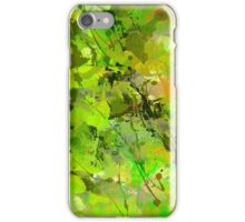 Watercolour abstract iPhone Case/Skin