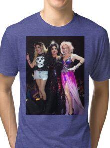 Adore delano, Bianca Del Rio & Courtney Act Tri-blend T-Shirt
