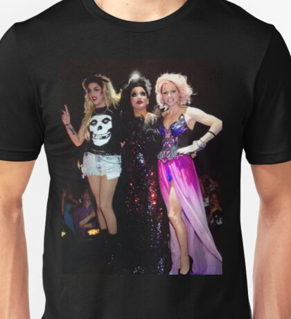 Adore delano, Bianca Del Rio & Courtney Act Unisex T-Shirt