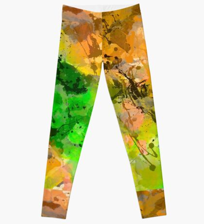 Paint abstract Leggings