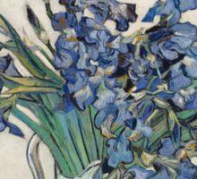 Vincent Van Gogh - Irises, 1890 Sticker