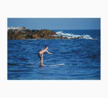 Paddle Boarding At Rockpile Beach Kids Tee