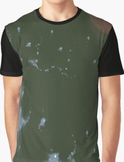 Water Drops Abstract Design Graphic T-Shirt