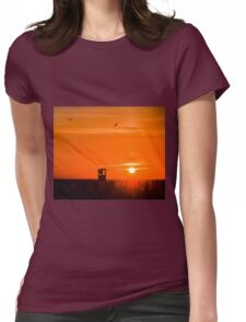 Tuscany Sunset  Womens Fitted T-Shirt
