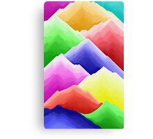 Colour Mountains Canvas Print