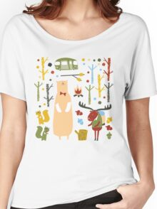 woodland forest Women's Relaxed Fit T-Shirt
