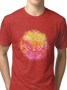 2017 Chinese New Year of the Rooster Tri-blend T-Shirt