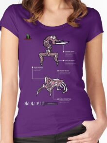 Oddworld - Scrab & Paramite Review Sheet Women's Fitted Scoop T-Shirt
