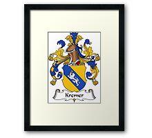Kremer Coat of Arms (German) Framed Print