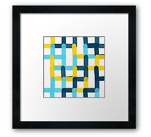Connections - Wide Knit Framed Print