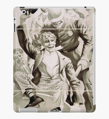 Performing Arts Posters The big scenic sensation Mans enemy with tons of scenery now in its 4th year in England 1469 iPad Case/Skin