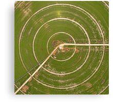 Crop target Canvas Print