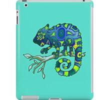 Chameleon (Blue Lime) iPad Case/Skin