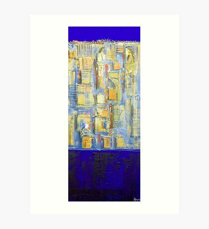 A kind of blue Art Print