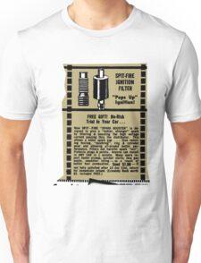 Spitfire Ignition  'filter' advert. Unisex T-Shirt