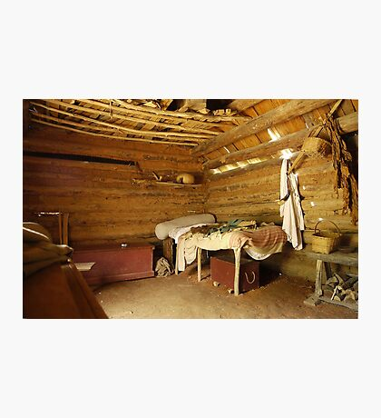 Colonial Bedroom Photographic Print