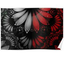 Shikoba Fractal -- Beautiful Feathers of the Vampire Poster