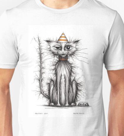 Frizzy cat Unisex T-Shirt