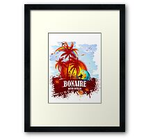 Bonaire Dutch Antilles  Framed Print