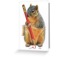 The Artiste Greeting Card