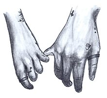 Tattooed hands by Qreativity