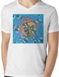Floating Passion Mens V-Neck T-Shirt