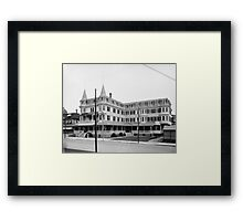 Colonial Hotel - Cape May, New Jersey Framed Print
