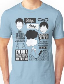 The Fault In Our Stars Collage Unisex T-Shirt