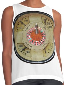 Custom Car Instrument with Lucky Roulette Wheel  Contrast Tank