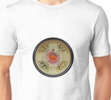 Custom Car Instrument with Lucky Roulette Wheel  Unisex T-Shirt