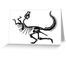 Hadrosaurus Greeting Card