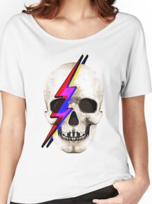 Skull David Bowie Women's Relaxed Fit T-Shirt