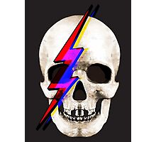 Skull David Bowie Photographic Print
