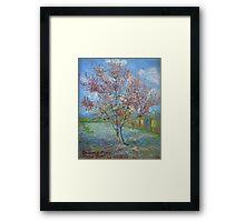 Vincent Van Gogh - Peach Tree In Bloom (In Memory Of Mauve), 1888 Framed Print