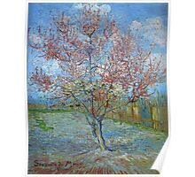 Vincent Van Gogh - Peach Tree In Bloom (In Memory Of Mauve), 1888 Poster