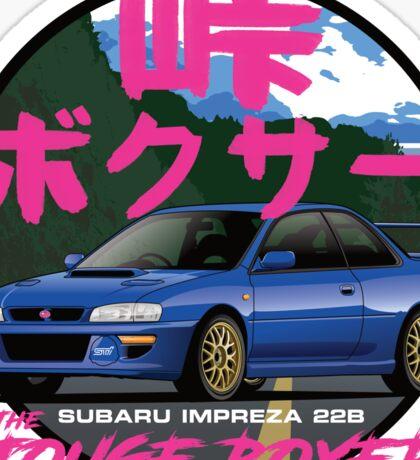 Subaru Impreza 22B Sticker