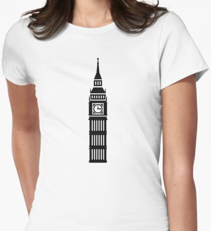 London Big Ben Womens Fitted T-Shirt