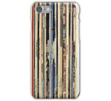 Vinyl Record Collector   iPhone Case/Skin