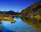 Roadside Pond along Dempster Highway by Yukondick