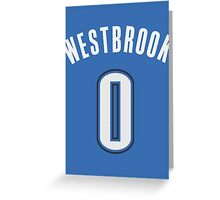 Russell Westbrook Greeting Card