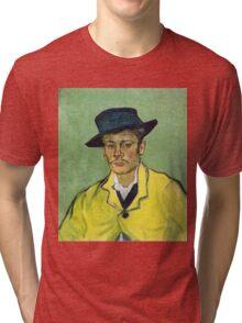 Vincent Van Gogh - Portrait Of Armand Roulin, 1888 Tri-blend T-Shirt