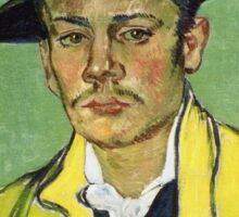 Vincent Van Gogh - Portrait Of Armand Roulin, 1888 Sticker