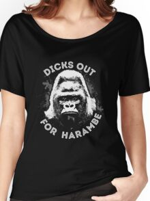Dicks out for Harambe Women's Relaxed Fit T-Shirt