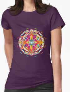 The Cat Empire - Mandala colorful Womens Fitted T-Shirt