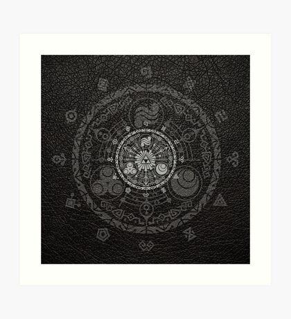 Legend Of Zelda - Hyrule Historia Art Print