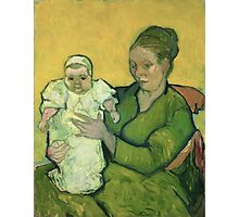 Vincent Van Gogh - Portrait Of Madame Augostine Roulin And Baby, 1888 Photographic Print