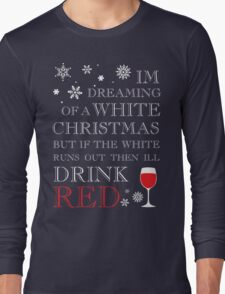 White Christmas Long Sleeve T-Shirt